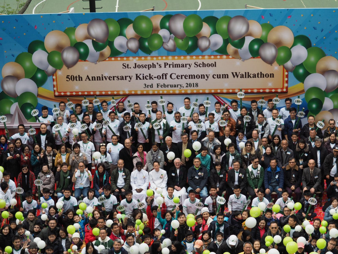 2018-2-3 Golden Jubilee Kick-off Ceremony cum Walkathon