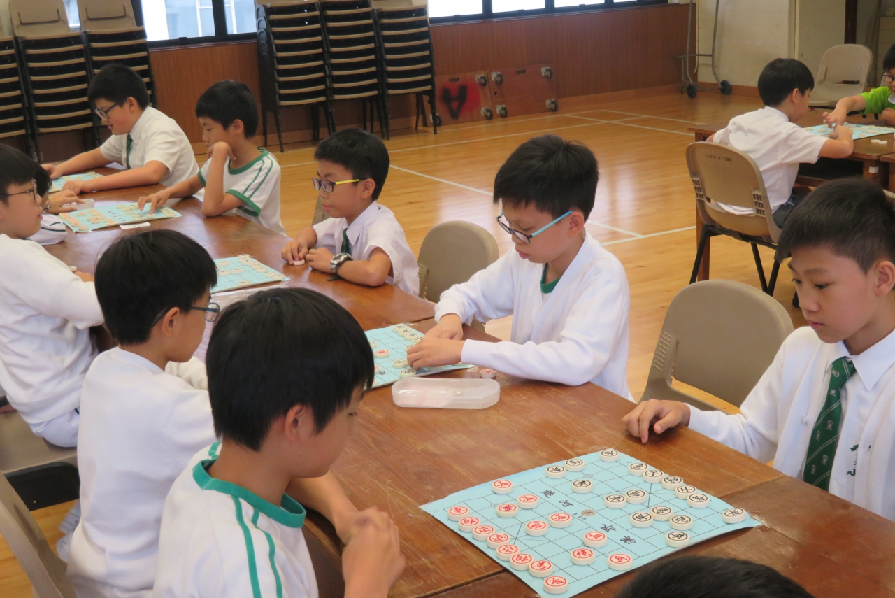 2019-05-03 P4-6 Chinese Chess inter-class Competition